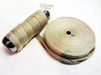 1Mtr Heat Wrap Exhaust Downpipe High Temp Insulating  Manifold Tape Rap