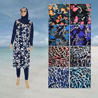 Alhamra Full Cover Modest Burkini Swimwear Burqini Swimsuit Muslim Xxl,3xl,4xl