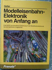 """modelleisenbahn-elektronik Von Anfang An.bruno Heller.franzis'. Moderne Et EléGant à La Mode"