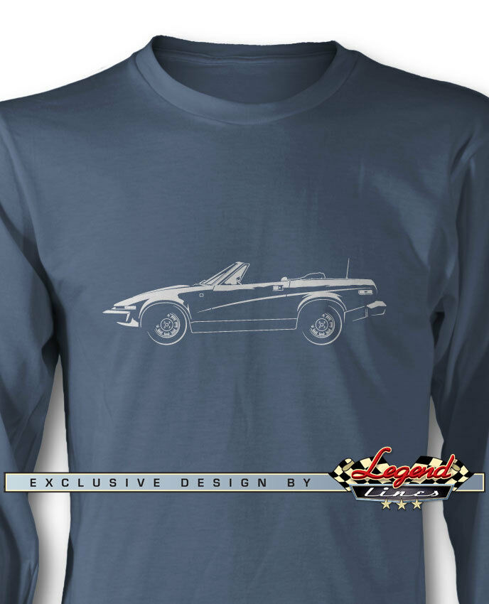 0256412afc47cf Triumph TR7 Congreenible Long Sleeves T-Shirt - Multiple colors   Sizes -  British
