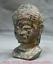 7-2-034-Bronze-Ware-Tibet-Bouddhisme-Shakyamuni-Amitabha-Bouddha-Tete-Buste-Statue miniature 4