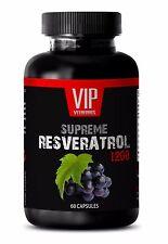 herb medicine - RESVERATROL Supreme 1200 Mg - speeds up your metabolism - 1 Bot