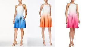Knee Length Ombre Dress