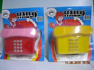Accurato Telefono Hallo' Con Tastiera E Trillo Rovaplast Anni '70
