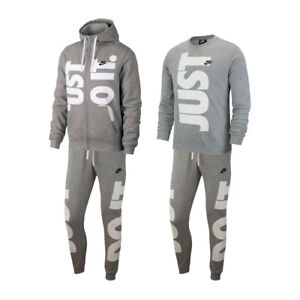 8e41db687f6a Nike NSW JDI WhiteTeam Orange Full Zip Hoodie French Terry Fleece ...
