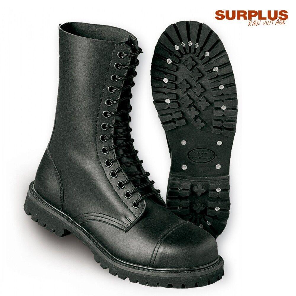 Surplus Men's Boots Shoes 14-Hole Undercover Combat Real Leather UK Size