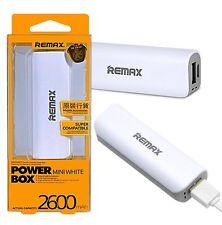 For Apple Iphone 7 - USB Power Bank 2600 mAh Portable Backup Battery