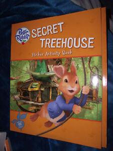 BRAND-NEW-Book-Nick-Jr-Peter-Rabbit-Secret-Treehouse-Sticker-Activity-Book