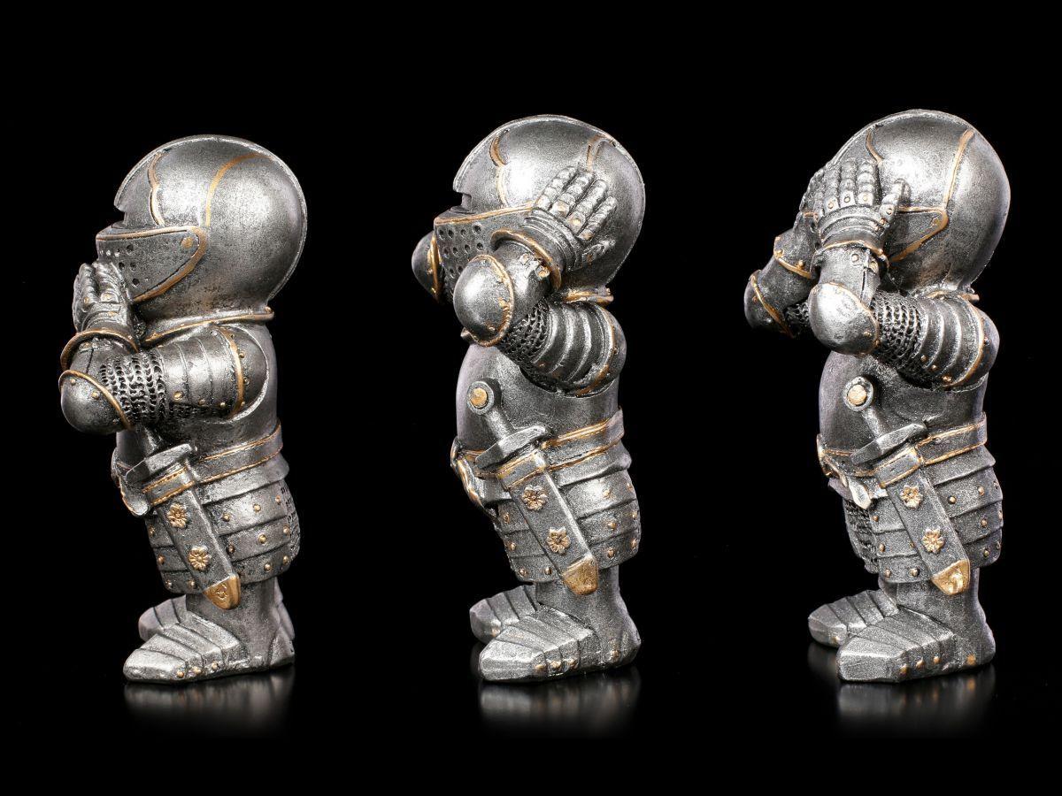Tre piccoli Cavalieri Cavalieri Cavalieri figure-niente di male-strani cavalieri figure REGALO 443a5f
