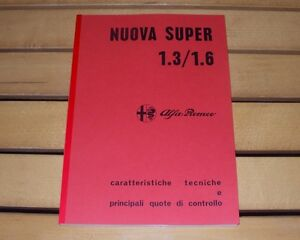 Alfa-Romeo-Giulia-Nuova-Super-1-3-1-6-Manuale-officina-workshop-manual