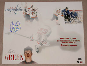 Mike-Green-SIGNED-16x20-Photo-Washington-Capitals-PSA-DNA-AUTOGRAPHED