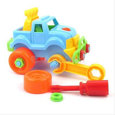 Pop Christmas Gift Kids Child Baby Boys Disassembly Assembly Classic Car Toy New