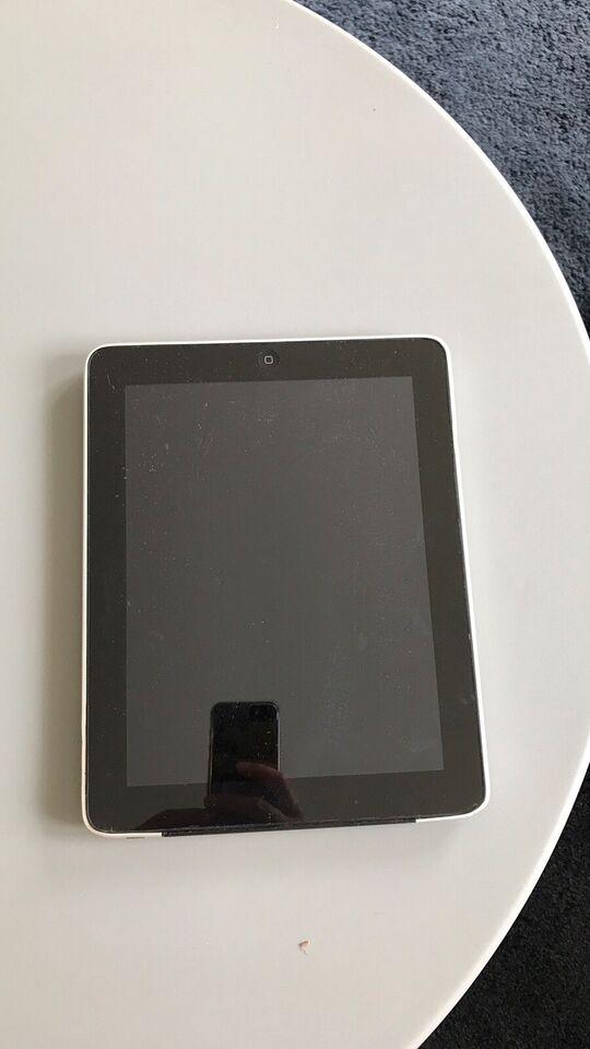 iPad 2, 32 GB, sort