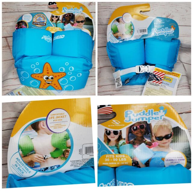 Blue//Orange for sale online Coleman Company Stearns Puddle Jumper Basic Starfish Personal Floatation Device