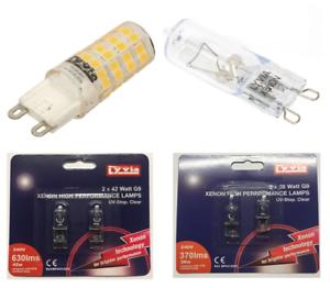 Various-Lyvia-LED-Halogen-Xenon-2W-10W-20W-28W-42W-12V-240V-G4-G9-Light-Bulb