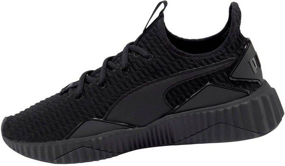 Puma Defy baskets Femmes Taille 42 Sport Fitness Chaussures De Loisirs Noir NEUF