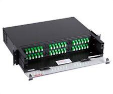 FiberOpticx Optical Cable RTC36B Cabinet Rack Mount 36 Port Black NEW