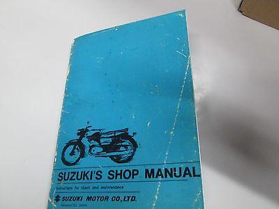 Suzuki SK125 TB250  SKB150 GENUINE SERVICE MANUAL 1960-64