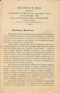 27 Lieurey Discours Docteur Felix Wagner Ecoles Communales 1902 9u5rpkuz-07220744-541412235