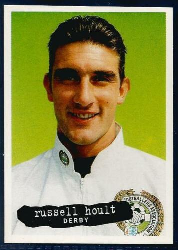 PANINI PFA FOOTBALL 97 #118-DERBY COUNTY-LEICESTER CITY-RUSSELL HOULT