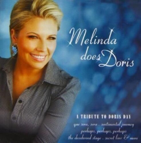 1 of 1 - Schneider, Melinda - Melinda Does Doris CD - NEW - a tribute to Doris Day