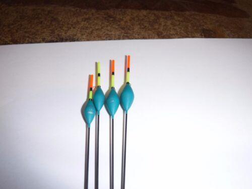Drennan Carp 2 Pole Fishing Float  set//4  0.5//6//8//1gram.grams