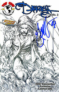 DARKNESS-LEVEL-3-LIMITED-EDITION-SIGNED-ARTIST-ERIC-BASALDUA-amp-MARC-SILVESTRI