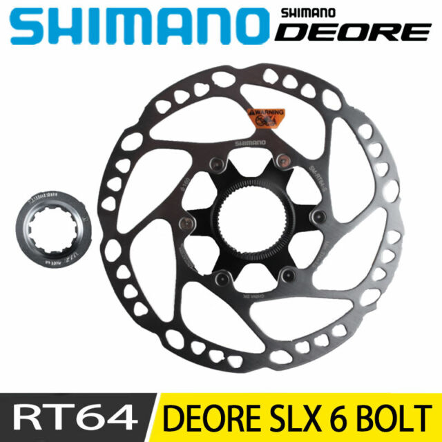 Shimano Deore SM RT64 Center Lock Disc Brake Rotor 160mm 11 Speed Bicycle Bike