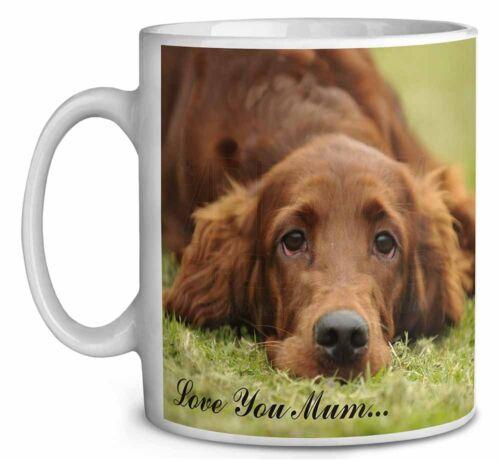Red Setter Dog /'Love You Mum/' Coffee//Tea Mug Christmas Stocking Fil AD-RS2LYMMG