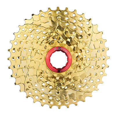 Ztto Mtb Mountain Bike Bicycle 9/27 S Speed Gold Freewheel Cassette 11-36t Reasonable Price Sporting Goods Cassettes, Freewheels & Cogs