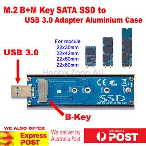 M-2-NGFF-B-M-KEY-SATA-SSD-to-USB-3-0-Converter-Adapter-External-Aluminium-case