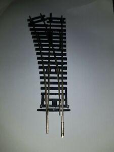 OO gauge HORNBY R8072 LEFT HAND POINT nickel silver model railway track faulty