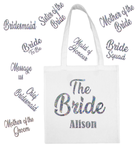Mother Of The Groom Wedding Favour Gift Bags Hen Party Gift Funny Shopping Tote