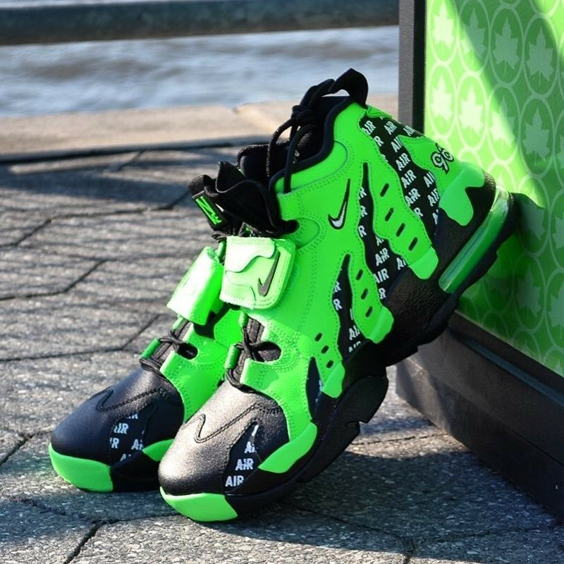 Nike Air Diamond Turf DT Max Deion 96 Deion Max Sanders vert homme Comfy Lifestyle chaussures 013b24