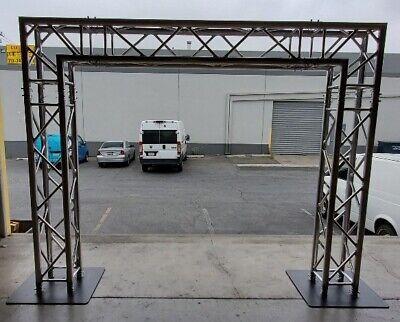 16 X 8 Dj Lighting Truss System Goal Post Trussing Kit F34 Square Segments Ebay