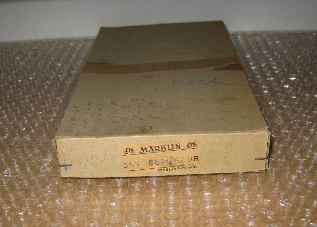 Märklin original comerciantes cartón para auto Unión coches de carreras 5521 62 br p779