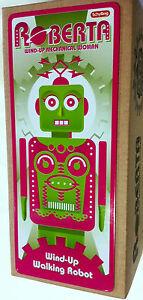 Roberta Space Robot Tin Toy Windup Schylling Toys Maria Metropolis RG New in box