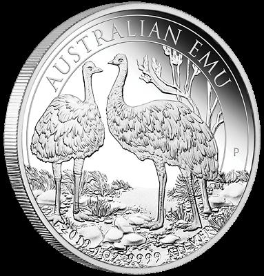 Humor 1 $ Dollar Silver Proof Australian Emu Australien 1 Oz Silber Pp 2019