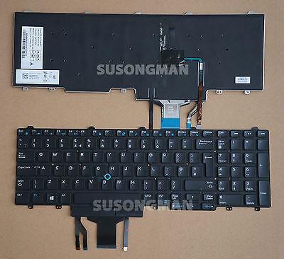 New Dell Precision 3510 7510 7710 Italian Italia Backlit Keyboard Tastiera YGT4V