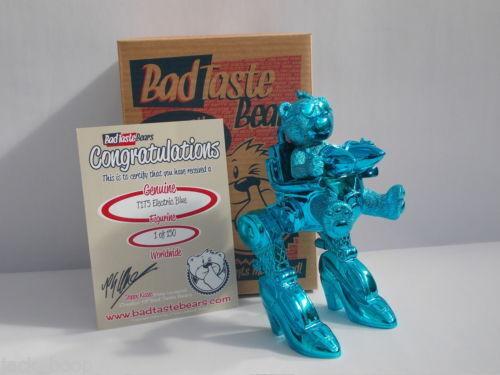 Bad Taste Bears-t1t5 Blu Elettrico-Menta-Nuovo-Boxed - MOLTO RARO