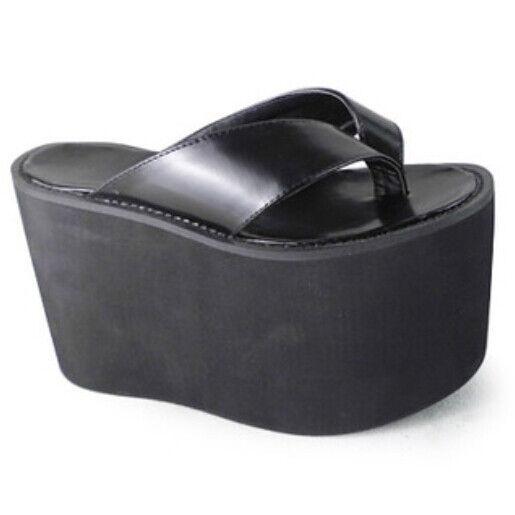 Lolita Solors Cosplay High Platform Schuhes Sandales Flip-Flops Candy Solors Lolita 1242-12 df5428