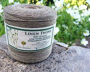 Natural-Linen-Twine-Cord-String-500-Grams-Macrame-Jewellery-Wedding-Gardening