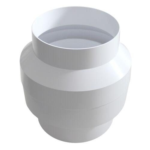 Kondenswasserabscheider Kondenswassersammler Ø 100 mm weiß Rundrohr Abluft