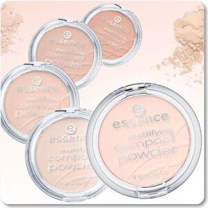 Essence-Mattifying-Compact-Powder-Professional-Make-Up-Texture-Natural-4-Shades