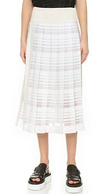 NEW Public School Casside Skirt in White - Size 8