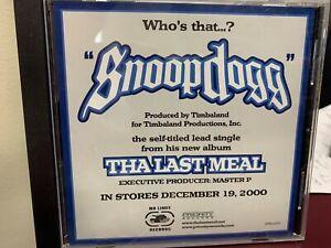 SNOOP DOGG SNOOP DOGG CD 2000 PRIORITY DPRO81373 DJ PROMO Copy