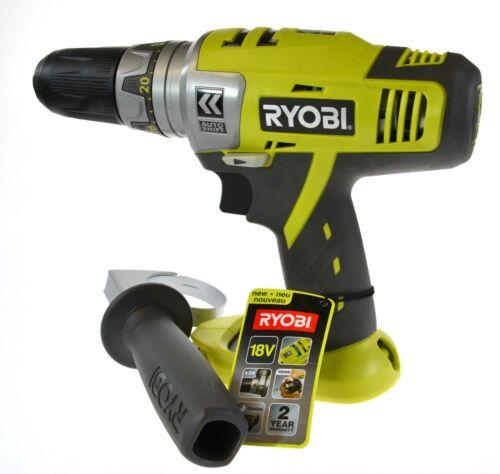 Ryobi 18 V Perceuse sans fil conducteur CDA1802 BARE OUTIL uniquement avec étui de transport