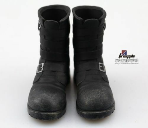 "1//6 Scale Black Boots WWII Hollow Tank Combat Boots VF003 Fit 12/"" Figure"