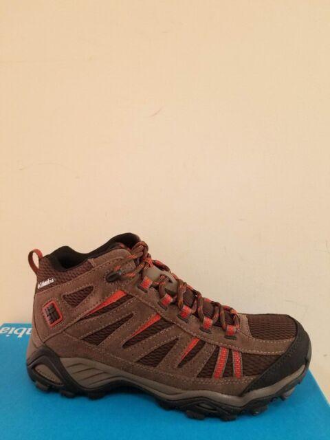Columbia Men`s Cut Slope Mid Waterproof Boots Size 7.5 NIB