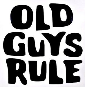 Image Is Loading Old Guys Rule Funny Cool Car Truck Window